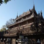 MMR - Mandalay, Shwe Nandow Monastery