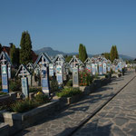 RO - lustiger Friedhof in Sapanta