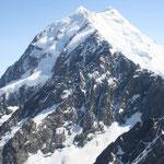 Gletscherrundflug - Mt. Cook