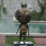 AZ - Baku, das sogenannte Granatapfelmännchen