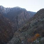 IR - Abfahrt vom Kandovan Pass