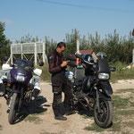 RO - kurz vor der Grenze zu Bulgarien