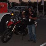 V.A.E. - beim Traveller Festival, Saleh von den Dubai Riders