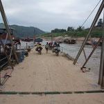 Mekongquerung vor PakBeng
