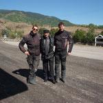 unser Mitfahrer von Ardahan bis zur Grenze nach Georgien