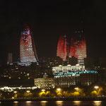 AZ - Baku Flame Towers