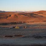 IR - unser Campingplatz bei Dandi