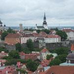 Tallinn - Blick von der St. Olafs Church