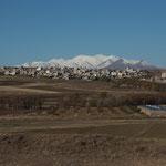 IR - vor Tabriz der Berg Kuh-e Sahand