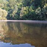 RO - smoke on the water beim Camping in Gilau