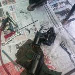 THA - bei Yut in der Werkstatt um den Anlasser zu reparieren