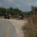 GR - kurz vor der Grenze Zlatograd