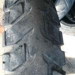 man muss es einsehen wenn der Reifen nichts mehr ist
