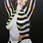 R3 -moderndigitalfeminity- 130X81 - Peinture Corps Photographie Peinture