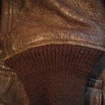 U.S.N. G-1ジャケット 袖リブ交換 AFTER 弊社ストックのvintageribを使用し仕上げました。