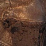 U.S.N. G-1ジャケット 袖リブ交換 BEFORE
