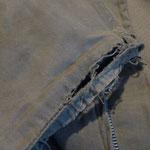 U.S.N.タンカースジャケット 袖リブ交換 AFTER