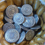 "levi's buttons for ""66""&""big E""model"