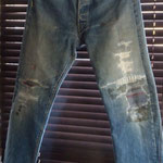 LEVI'S 50166前期 AFTER