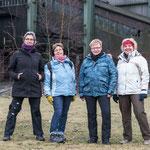 Unterwegs mit Doris, Petra und Christiane - vier Fotografinnen auf Bilderjagd! Hier in der Zeche Zollverein, Essen