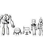 SHATNER of WONDER『ロボ・ロボ』ロボットスケッチ