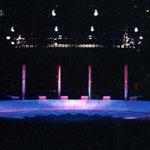 橘宣行の鉄彫刻:惑星ピスタチオ『熱闘!! 飛龍小学校☆パワード』のための舞台美術(1996年)