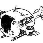 SHATNER of WONDER『ロボ・ロボ』輸送機スケッチ