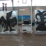 Nöle Giulini, Objekte aus Kombuchateepilz
