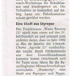 Workshopbeschreibung vom 21.06.2013