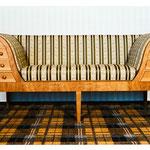 Sofa in Kirschbaum, Foto: Gränz Innenausbau