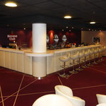Maritim Hafenhotel (Rheinsberg) Nachtclub 53°|12°, Foto: Gränz Innenausbau