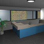 Arbeitsplatz Sekretariat Geschäftsführung (Weimar), Planung
