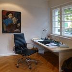 Arbeitszimmer, (Residenz München), Architekt: Andreas Thiele, Foto: Gränz Innenausbau