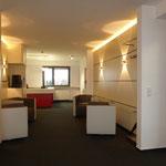 Wartebereich Sekretariat Geschäftsführung (Weimar) Ausführung, Foto: Gränz Innenausbau