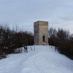 Die Seweckenwarte im Winter