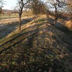 Der Landgraben in der Nähe des Lethturmes