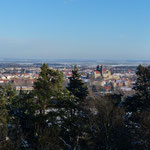 Blick von der Altenburgwarte zur Stadt 2015