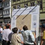 Am Tag des offenen Denkmals auf dem Markt 2006