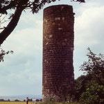 Die Ruine der Ilenstedter Warte 1979