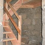 Zugangsebene und Stiegen