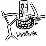 Die Ilenstedter Warte auf einer Karte aus der Barockzeit