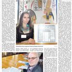 """Pressebericht zum Vortrag """"Kleopatras vergessener Tempel"""" anlässlich der 8. Tage der Ägyptologie in Brenkhausen, Quelle: Täglicher Anzeiger Holzminden vom 28.07.2015, Bericht von Frank Müntefering"""