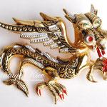 Лот №437.Винтажная брошь-дракон,выполненная в технике Дамаскин(подробнее о ней читайте в разделе *Известные марки*).В отличном состоянии,маркирована Spain.Размер-4 см.ПРОДАНА