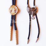 Лот №497.Винтажные галстуки-боло. Хорошая соранность,без маркировки,размер4.5 см.Цена-250 грн.Крайний левый продан