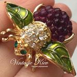 Лот №П646.Ежевичная пчелка от Джоан Ривер.ПРОДАНА,покупка под заказ.