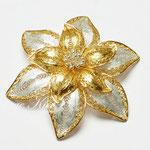 Лот №П596.Серебряная брошь-цветок,выполненная в филигранной технике.Маркирована,состояние,как новое.Ювелирная работа,3Д дизайн,размер-6 см.ПРОДАНА