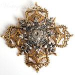 Лот №П884.Винтажная брошь-мальтийский крест от ART.ПРОДАН