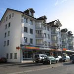 Geschäftshaus Raiffeisenbank und Coop in Walenstadt