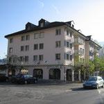 Geschäftshaus mit Verkaufsladen, Zahnarztpraxis und Röntgeninstitut in Walenstadt