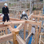 建て方作業